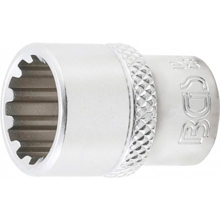 "BGS technic 1/4"" Dugókulcs ""Gear Lock"", 12 mm (BGS 10112)"
