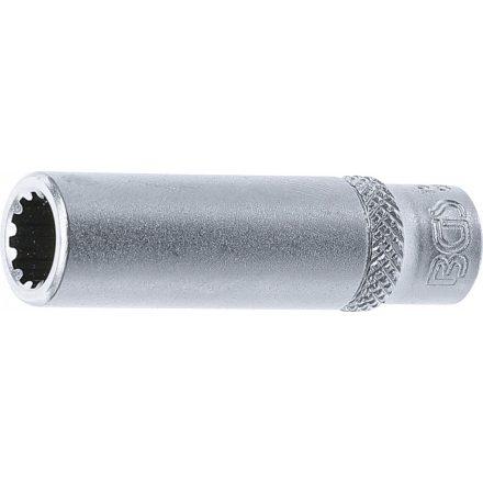 "BGS technic 1/4"" Hosszított dugókulcs ""Gear Lock"", 8 mm (BGS 10158)"