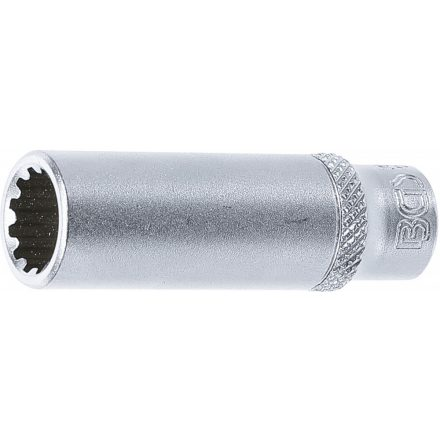 "BGS technic 1/4"" Hosszított dugókulcs ""Gear Lock"", 10 mm (BGS 10160)"