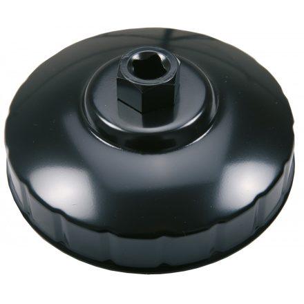 BGS technic Olajszűrő leszedő kupak, 108 mm x 15 lap (BGS 1019-108)
