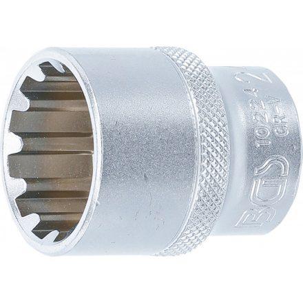 "BGS technic 1/2"" Dugókulcs ""Gear Lock"", 24 mm (BGS 10224)"