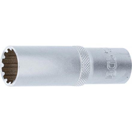 "BGS technic 1/2"" Hosszított dugókulcs ""Gear Lock"", 17 mm (BGS 10257)"