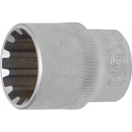 "BGS technic 3/8"" Dugókulcs ""Gear Lock"", 17 mm (BGS 10317)"