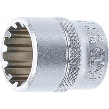 "BGS technic 3/8"" Dugókulcs ""Gear Lock"", 18 mm (BGS 10318)"