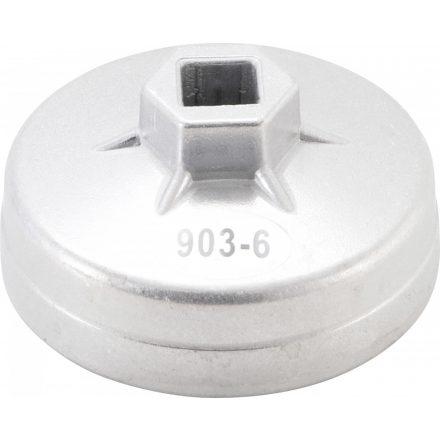 Kraftmann Olajszűrő leszedő kupak 75 mm x 12 oldalú (BGS 1035-75x12)