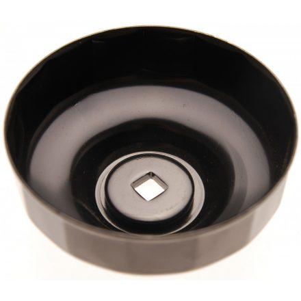 BGS technic Olajszűrő leszedő kupak 74 mm x 15 lap (BGS 1039-74-15)