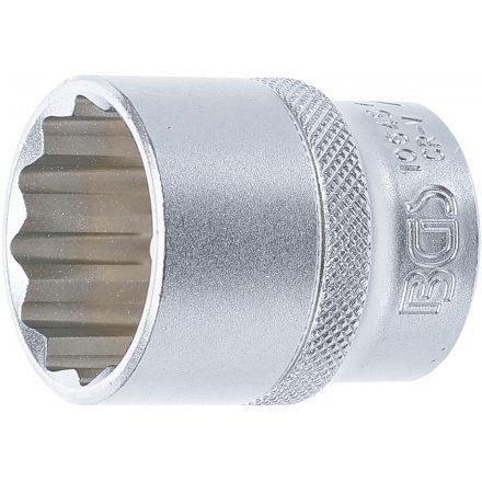 """BGS technic 1/2"""" Dugókulcs, 12-szögű, 27 mm (BGS 10645)"""