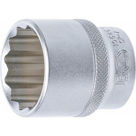 """BGS technic 1/2"""" Dugókulcs, 12-szögű, 30 mm (BGS 10646)"""