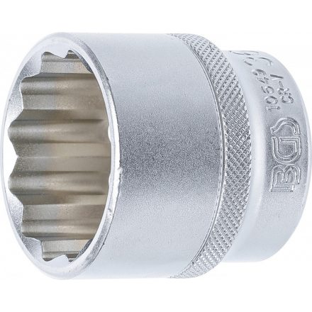 """BGS technic 1/2"""" Dugókulcs, 12-szögű, 36 mm (BGS 10649)"""