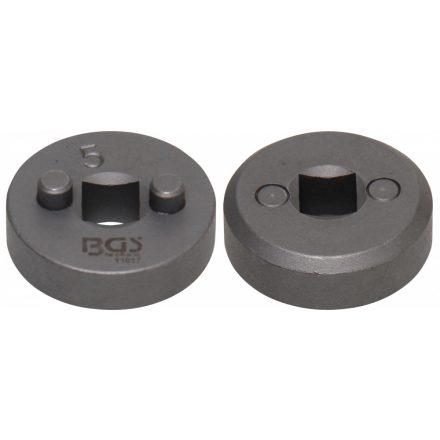 """BGS technic Fékdugattyú visszatekerő adapter, 3/8"""" (10 mm), a BGS 1119 fékdugattyú visszatekerő készletből, """"5"""" (BGS 11017)"""