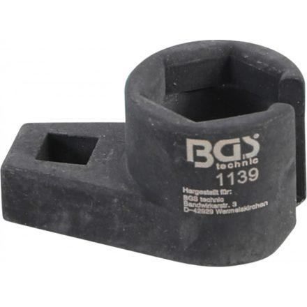 """BGS technic Dugókulcs fej oxigén szenzorhoz, 22 mm x 3/8"""", négyszög hajtás (BGS 1139)"""