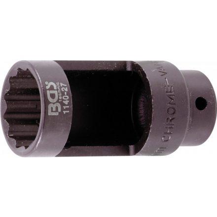 """BGS technic Dugókulcs fej oxigén szenzorhoz, 27 mm x 78 mm, 1/2"""" hajtás (BGS 1140-27)"""