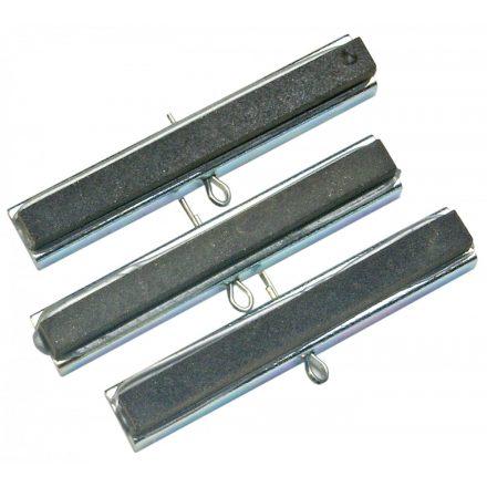 BGS technic 3 db tartalék dörzs fej a BGS 1156 henger dörzsár/tisztítóhoz, 50 mm, P220 (BGS 1146)