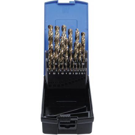 BGS technic 26 részes fúrószár készlet, HSS-G M35 kobalt acél, 1-13 mm (BGS 116)