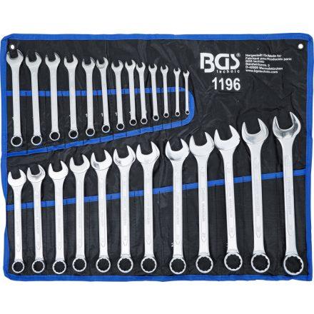 BGS technic 25 részes csillag-villás kulcs készlet, 6-32mm (BGS 1196)