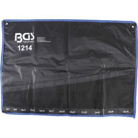 BGS technic Üres műanyag tok a BGS 1214 mély, hajlított csillagkulcs készlethez (BGS 1214-LEER)