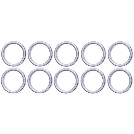 BGS technic Tőmítő gyűrű, 13mm, 10 darab, BGS 126 olajleeresztő csavar menetjavító készlethez (BGS 126-UM13)
