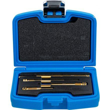 BGS technic 4 részes dörzsár készlet az izzítógyertya furatokhoz (BGS 136)