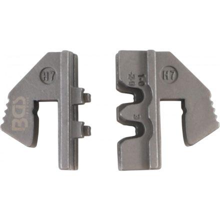 BGS technic Krimpelő pofa vízálló csatlakozóhoz (H7)   a BGS 1410, 1411, 1412 krimpelőkhöz (BGS 1410-H7)