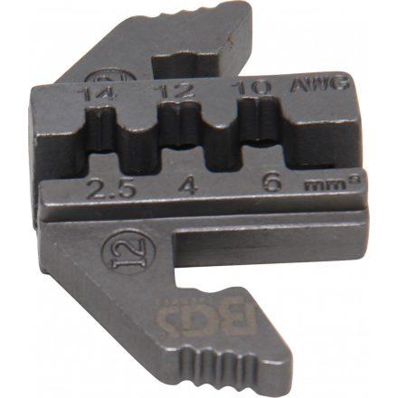 BGS technic Krimpelő befogópofa MC4 napkollektor csatlakozóhoz, BGS 1410, 1411, 1412 azonosítójú termékekhez (BGS 1410-I2)