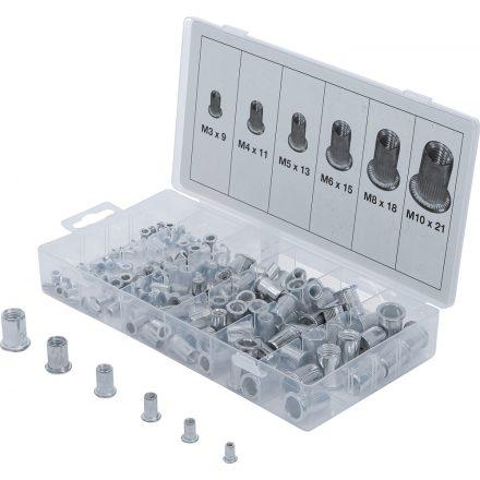 BGS technic 150 részes alumínium szegecsanya készlet (BGS 14127)