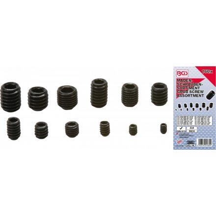 BGS technic Hernyócsavar készlet | Coll méretek | 160 darabos (BGS 14136)