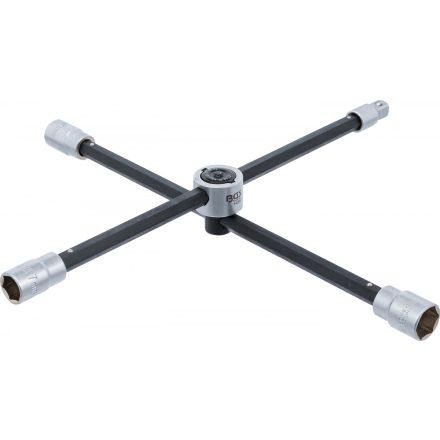 BGS technic Keresztkulcs, összecsukható, csuklópántos kötés (BGS 1456)
