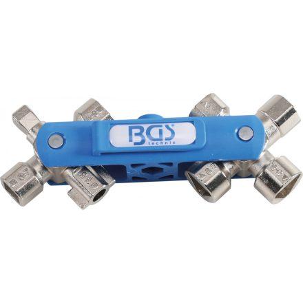 BGS technic Univerzális kapcsolótábla kulcs, SuBMaker Quadro 10 az 1-ben (BGS 1469)