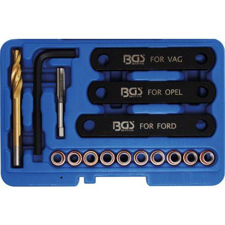 BGS technic Féknyereg menetjavító készlet M9x1.25 (BGS 148)