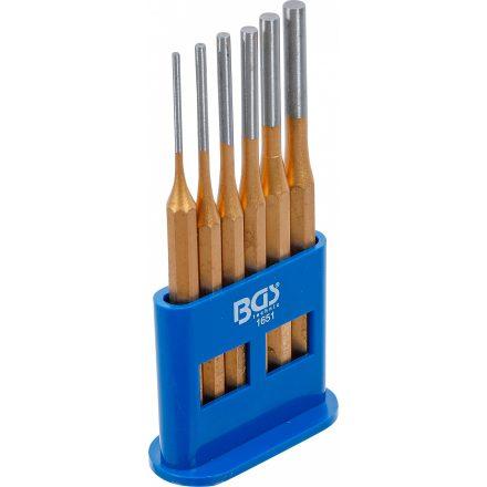 BGS technic 6 részes csapszegkiütő készlet , 3-8mm, 150mm hosszú (BGS 1651)
