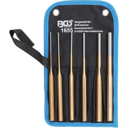 BGS technic 6 részes csapszegkiütő készlet , 2.5-8mm, 200mm hosszú (BGS 1655)