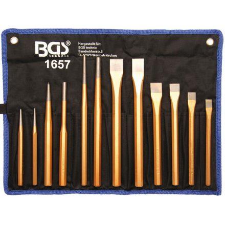 BGS technic Kiütő és hidegvágó készlet 12 db-os (BGS 1657)