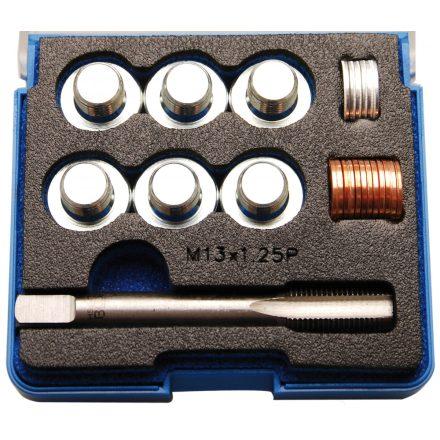 BGS technic Olajleeresztő csavar menetjavító készlet, M13x1.25 (BGS 168)